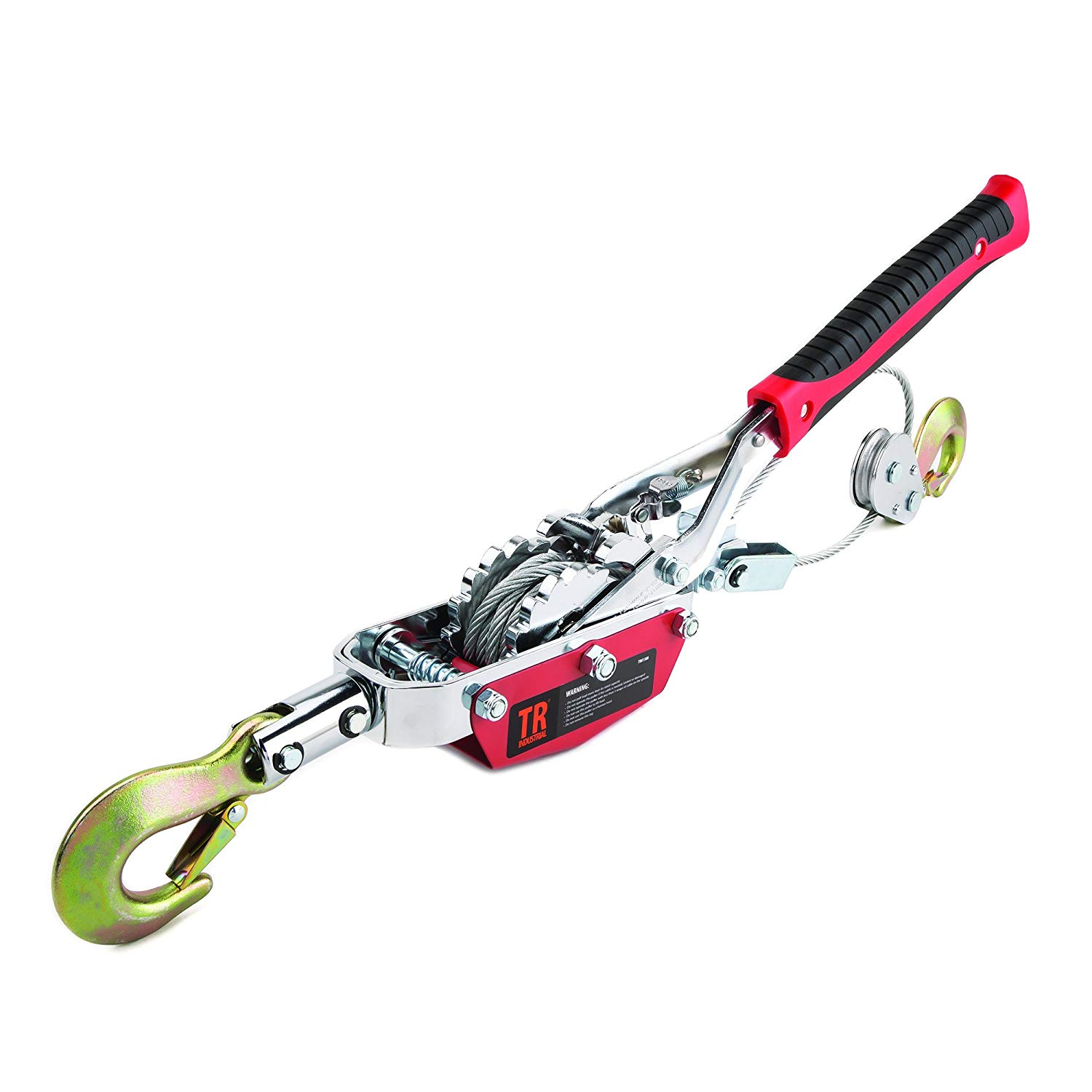 TR Industrial Portable 4-Ton Dual Gear Power Puller