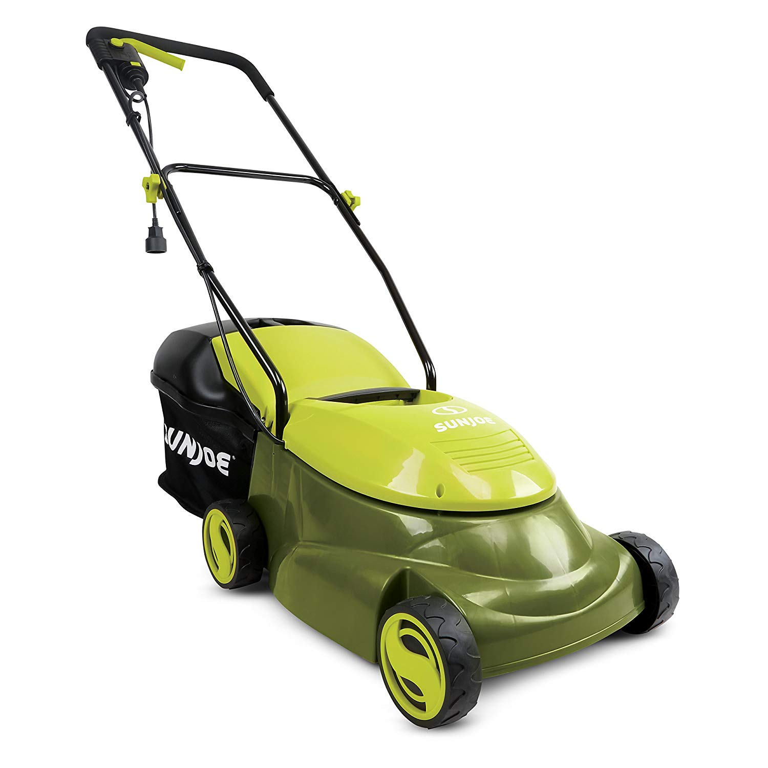 sun joe lawn mower review