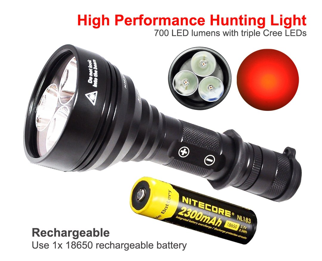Best coyote hunting light