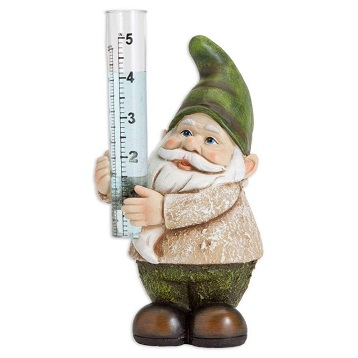 Bits-and-Pieces-Garden-Decor-Hand-Painted-Gnome-Rain-Gauge