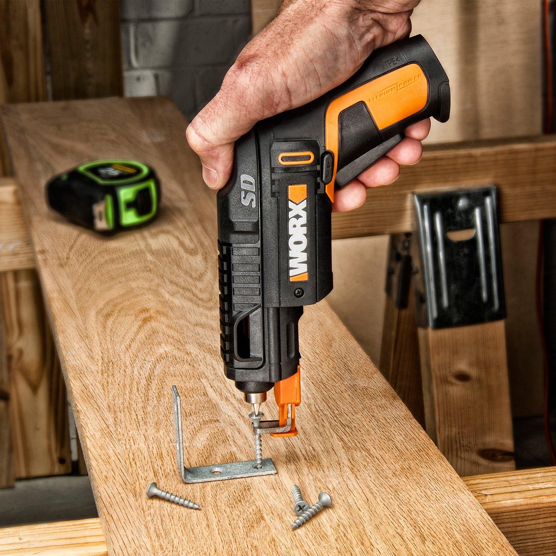 worx screwdriver with flex extender