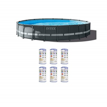 Ground Swimming Pool Set
